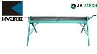 Механические вальцы Ja Mech 2040 для вальцовки металла(, 2015-05-29T11:49:49.000Z)