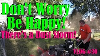 don t worry be happy vlog 30 beast mode exhausted lawn stripes seat belt song do work