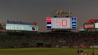 Boston Red Sox 2018 Starting Lineups (vs. New York Mets)