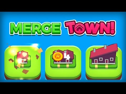 Merge Town! Gram Games Walkthrough