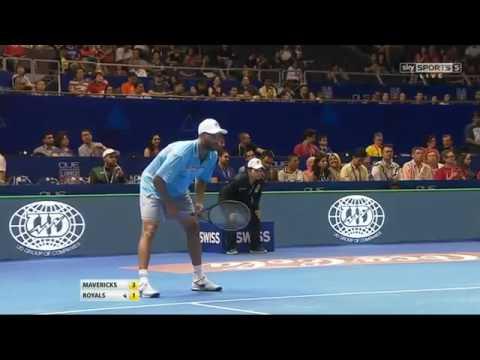 James Blake vs Goran Ivanisevic FULL MATCH HD IPTL Singapore 2015