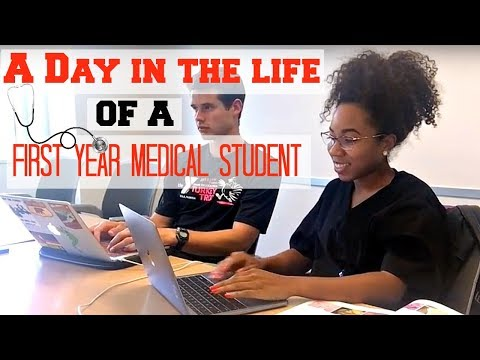 A Day in the Life of a First Year Medical Student | Med School Vlog