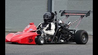 UK DRAG KART SERIES FROM USC19 - Best Time 9.25 @ 137mph