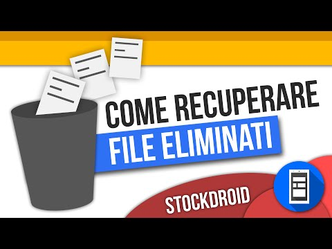 Come recuperare file eliminati su android