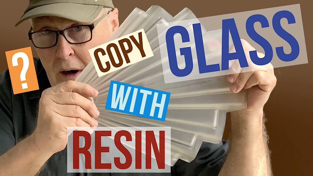 Molding A  Glass Lamp Shade - Part 1