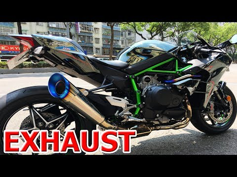 Kawasaki H2rh2 Top 13 Exhaust Sound Akrapovic Yoshimura Austin