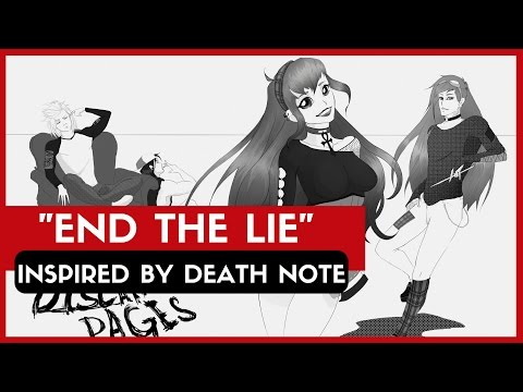DISCARDED PAGES - End The Lie (inspired By DEATH NOTE/デスノート) | L Vs LIGHT's Theme Song