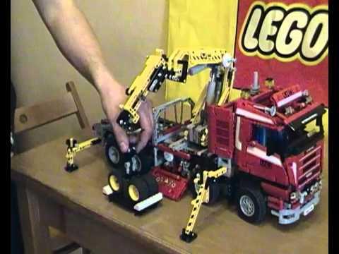 lego technic 8258 rc mp4 youtube. Black Bedroom Furniture Sets. Home Design Ideas