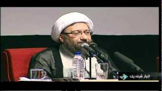 Tehran Larijani  head of the judicial system of Iran 29 Sep 2010 Threatened Mousavi & karoubi
