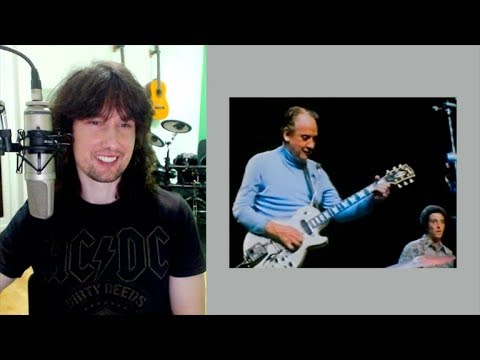 British guitarist reacts to the LEGEND that is Les Paul, innovating AND face melting!