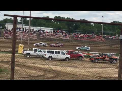 Quincy Raceways 5-21-17 sport Compact heat race