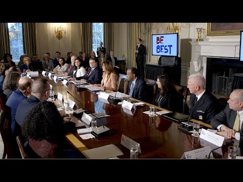 First Lady Melania Trump Hosts an Interagency Working Group on Youth Programs