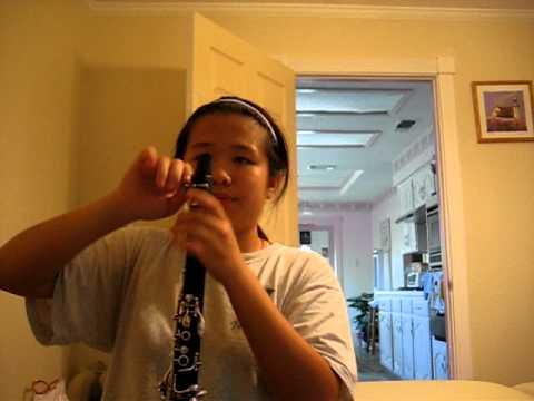 NCIS theme on the Clarinet