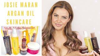 Josie Maran Argan Oil skincare