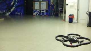 AR Drone autonomous onboard navigation