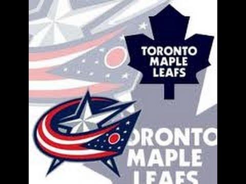 NHL 13 Columbus Blue Jackets vs Toronto Maple Leafs - YouTube