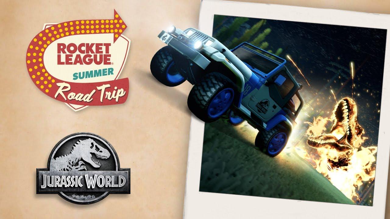 Rocket League Jurassic World Bundle