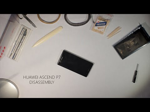 Huawei Ascend P7 Disassembly/ How to replace cracked screen