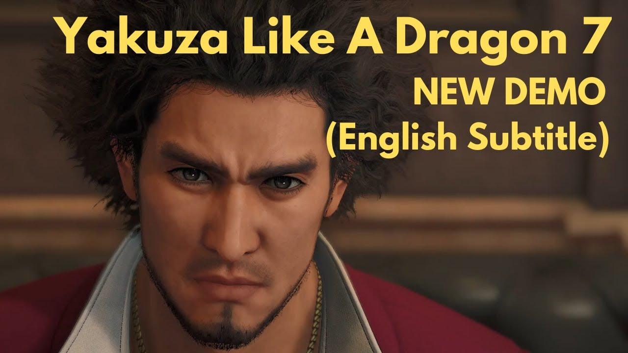 Yakuza 7 Like A Dragon Demo Walkthrough Gameplay English Subtitle
