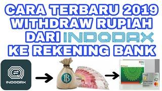 Cara Terbaru 2019 Withdraw  Menarik  Rupiah Dari Indodax Ke Rekening Bank