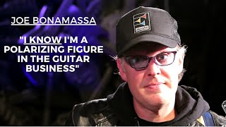 Why Joe Bonamassa is a Polarizing Figure in the Guitar Business