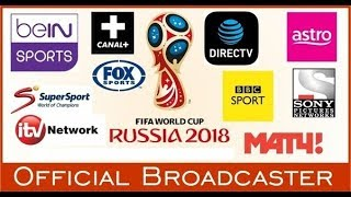 FIFA world cup 2018 Live Telecast | Broadcast Channels