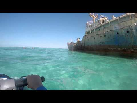 Turks & Caicos - Day 10 - Jet Ski to Shipwreck on Long Bay