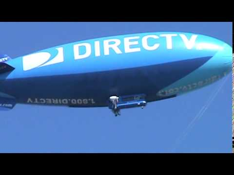 7/5/2014: DirecTV Blimp: A-170LS Lightsign Lightship. (Yeah, I'm a helium head too!)