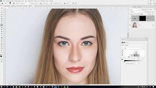 Затемнение края радужки глаз в Adobe Photoshop