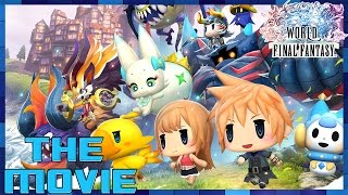 World of Final Fantasy - THE MOVIE (2016) All Cutscenes [HD]