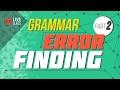 GRAMMAR Error Finding 2 (LIVE) | Ayman Sadiq