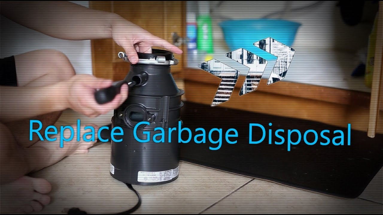 How To Replace Garbage Disposal Badger 500