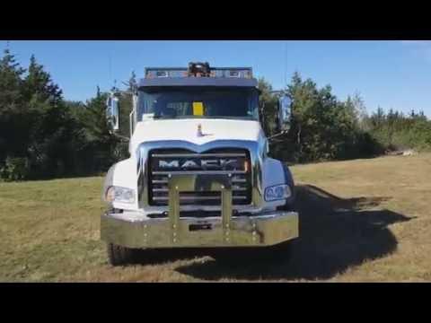 2017 Mack Truck Warning Lights Installation
