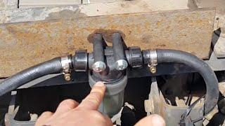 На грузовики обязательно устанавливайте дополнительный фильтр грубой очистки (DAF 95 XF)