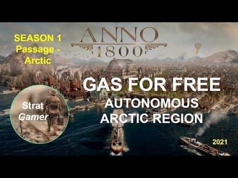Anno 1800 - Arctic region - Gas for FREE