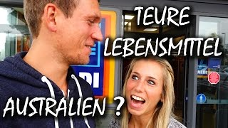 Australien Kosten: Lebensmittel in Australien - Preise - How much is it? | VLOG #89