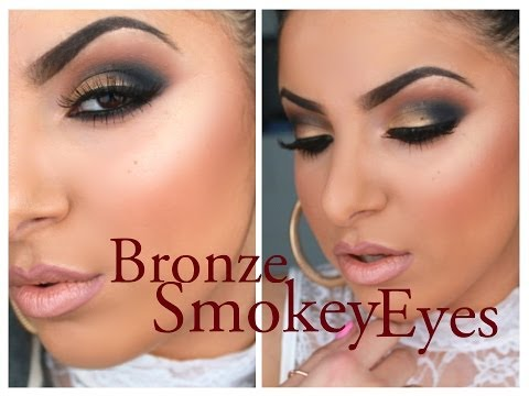 Bronze Smokey Eyes For Summer |  Makeupbyleylaa