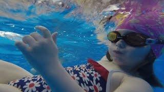 Как дети научились плавать за год►секция плавания для детей►Трехгорный