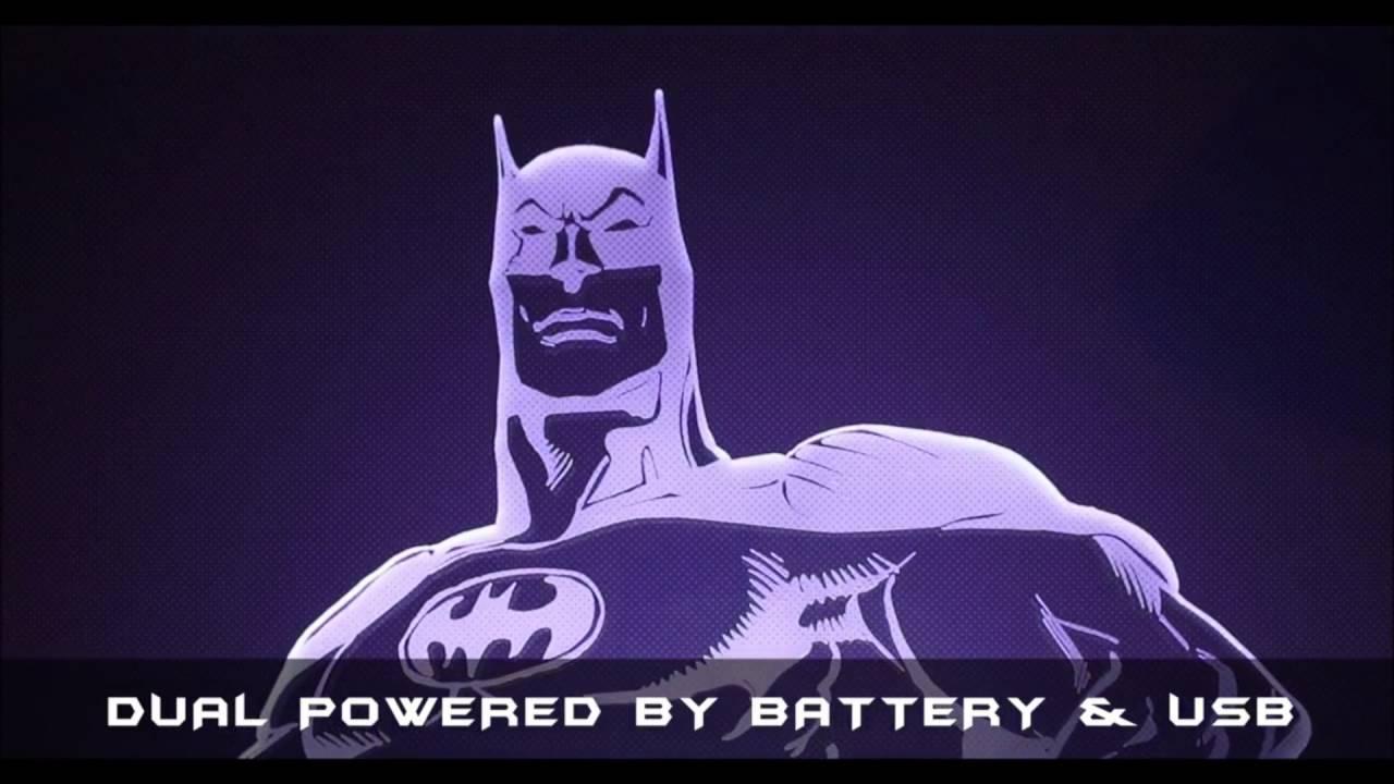 Lampe Buste Super Heros Batman Sur Www Logeekdesign Com Youtube