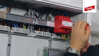 Blitzstromableiter DEHNshield einbauen (nach dem Zähler) | Teil 2/3