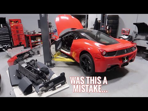 My Wrecked Ferrari 458 has revealed its Hidden Problems...