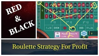 RED & Black with Column 2 & 3 strategy