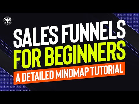 Sales Funnels For Beginners - A Detailed Mindmap Tutorial thumbnail