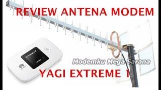 Review Antena Modem Yagi Extreme 1, Dengan Modem Huawei E5577