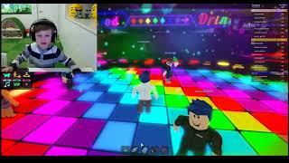 FinnieKaT Plays Roblox Neon Nightclub