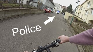 Angry Woman calls Police + Escape ||German|| GoPro Hero3