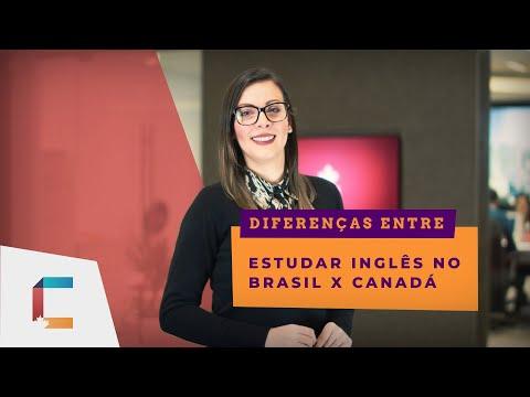Porque ESTUDAR inglês no CANADÁ vs BRASIL