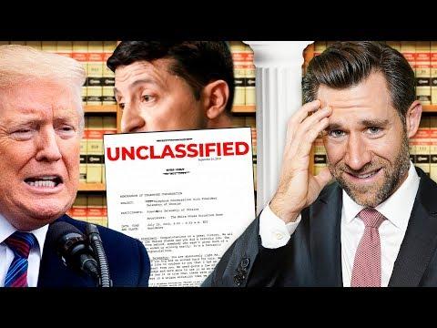 Ukraine Whistleblower, Transcript, Complaint & Impeachment -- Real Law Review