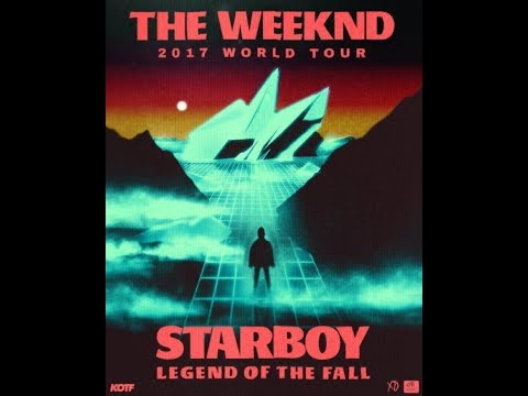 "The Weeknd - ""Crew Love"" And ""Often"" (June 4, 2017 - Starboy: Legend Of The Fall Tour)"