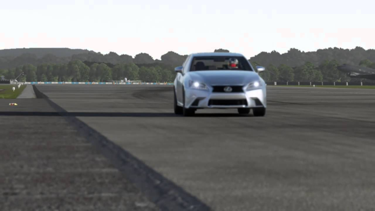 Forza Motorsport 6   2013 Lexus GS350 F Sport   Top Gear Test Track (Full  Circuit/Day)
